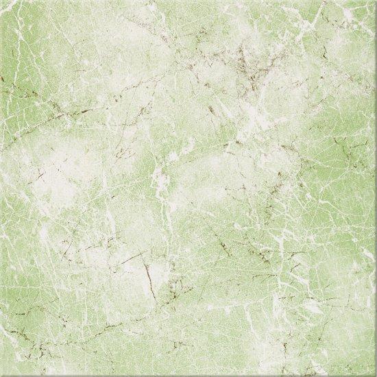 Płytka podłogowa SANDRA zielona błyszcząca 33,3x33,3 gat. II