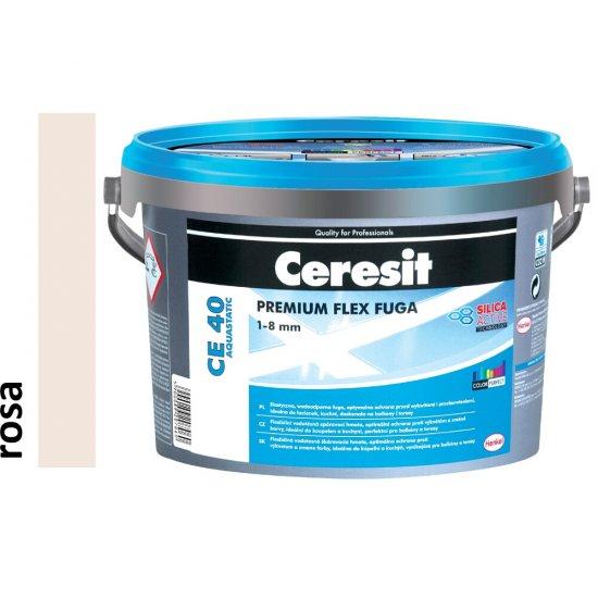 Fuga elastyczna CERESIT CE 40 rosa 5 kg