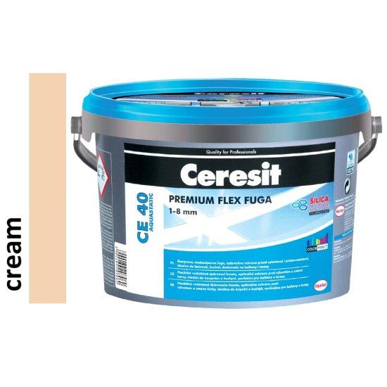 Fuga elastyczna CERESIT CE 40 cream 2kg
