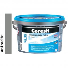 Fuga elastyczna CERESIT CE 40 antracite 5 kg