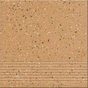 Gres techniczny HYPERION żółty stopnica H2 mat 29,7x29,7 gat. I Opoczno