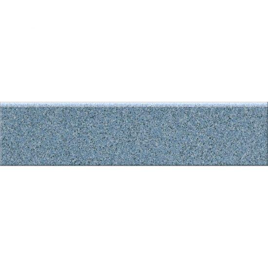 Gres techniczny KALLISTO niebieski cokół k8 mat 7,2x29,7 gat. I