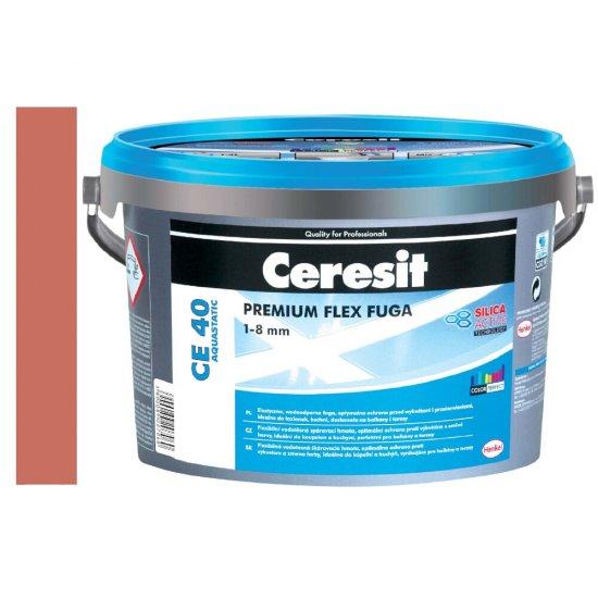 Fuga elastyczna CERESIT CE 40 clinker 2 kg