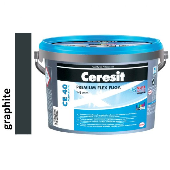 Fuga elastyczna CERESIT CE 40 graphite 2 kg