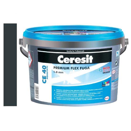 Fuga elastyczna CERESIT CE 40 grafitowa 5 kg