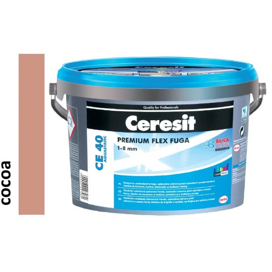 Fuga elastyczna CERESIT CE 40 cocoa 5 kg