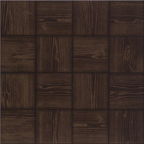 Gres szkliwiony MANAUS wenge mozaika mat 39,6x39,6 gat. I