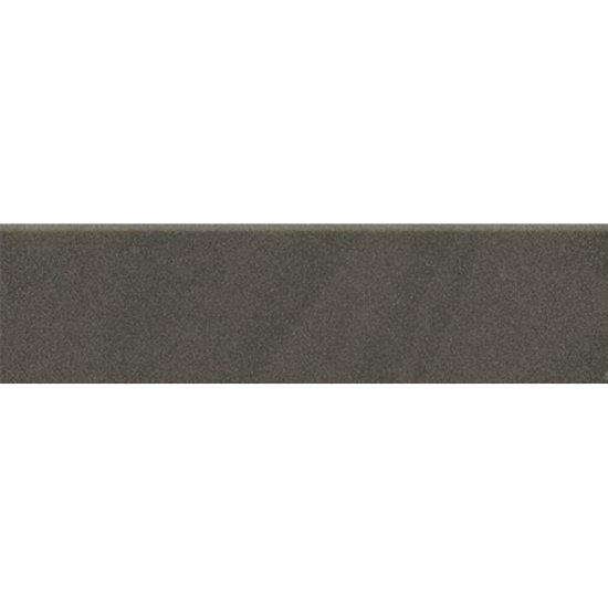 Gres zdobiony KANDO czarny cokół mat 8x29,55 gat. I