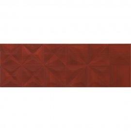 Płytka ścienna MODERN LINE czerwona struktura 25x75 gat. II