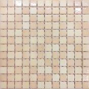 Mozaika PALETTE beżowa mix błyszcząca 30x30 gat. I