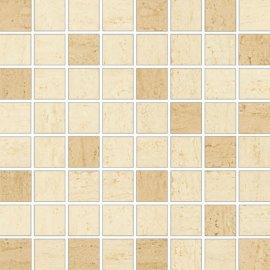 Płytka ścienna DESA kremowa mozaika mix mat 25x25 gat. I