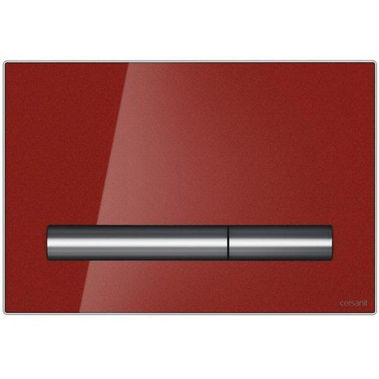 Przycisk spłukujący PILOT szkło czerwone