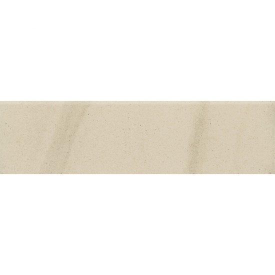 Gres zdobiony KANDO biały cokół mat 8x29,55 gat. I