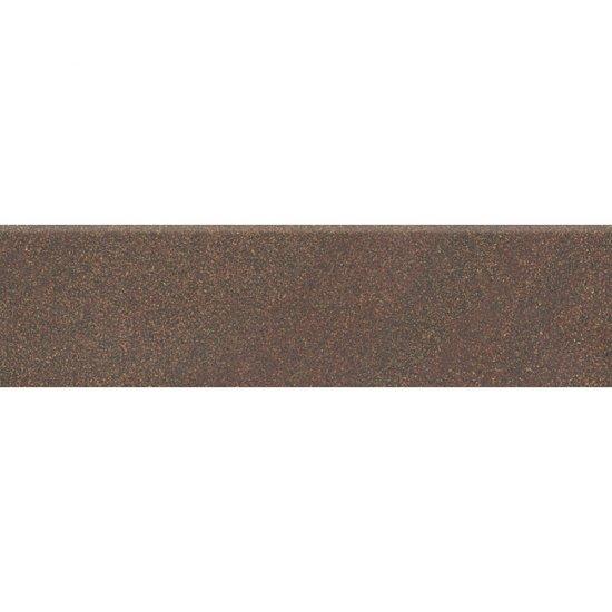 Gres zdobiony KANDO brązowy cokół mat 8x29,55 gat. I