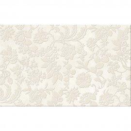 Płytka ścienna REGNA biała inserto kwiaty 25x40 gat. I