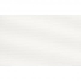 Płytka ścienna NEGRA biała paski błyszcząca 25x40 gat. II
