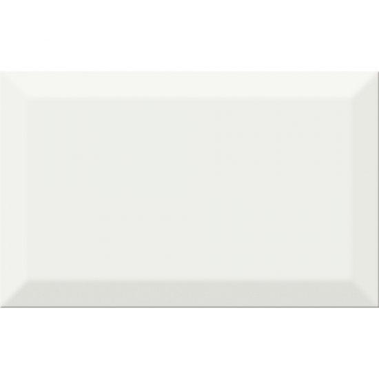 Płytka ścienna PONTI biała struktura błyszcząca 25x40 gat. II