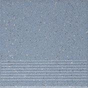 Gres techniczny HYPERION niebieski stopnica h8 mat 29,7x29,7 gat. I