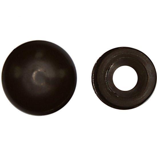 Rozeta mała do maskowania wkrętów ROZ D 100szt. kolor brązowy Benox