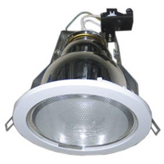 Oprawa downlight z odbłyśnikiem R-600NG srebrna Brilum