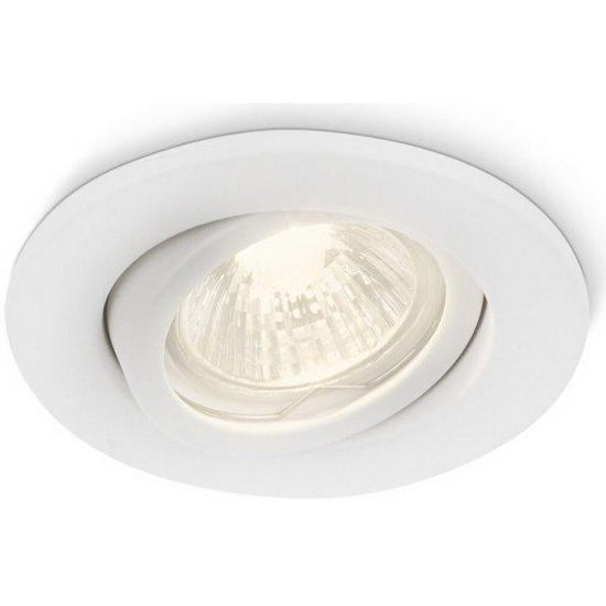 Oprawa punktowa sufitowa FRESCO biała 01796/31/PN Philips