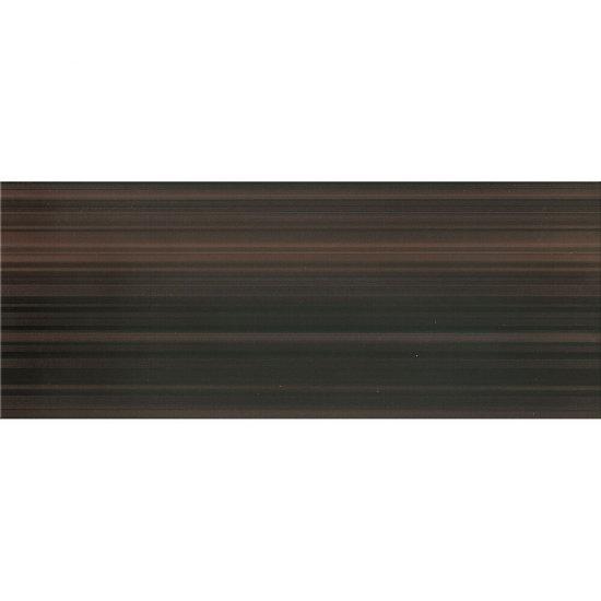Płytka ścienna ORGANZA brązowa mat 20x50 gat. II