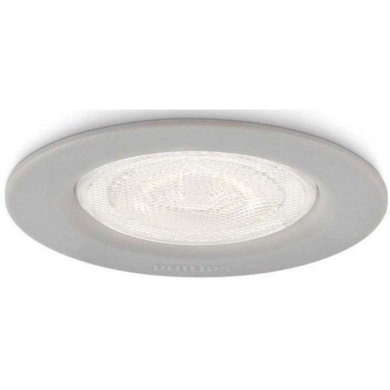Oprawa punktowa sufitowa 1x3W SCEPTRUM, LED szara 59101/87/16 Philips