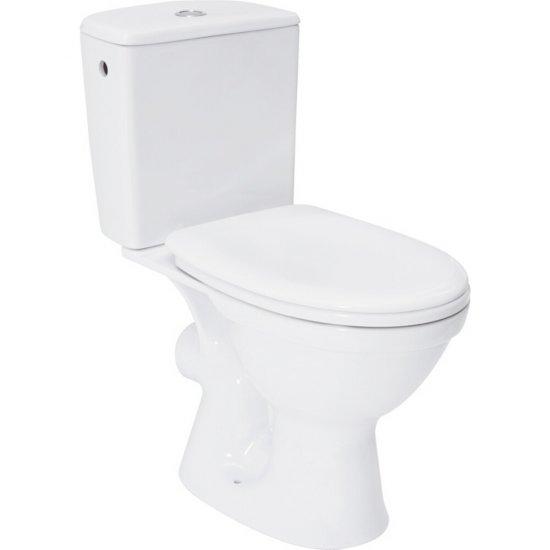Kompakt WC MERIDA z deską polipropylenową wolnoopadającą