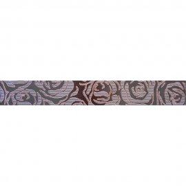 Gres szkliwiony MISTIC brązowy listwa mat 7,5x59,8 gat. I
