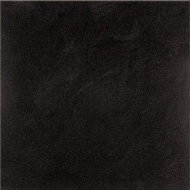 Gres zdobiony SATURN czarny 29,5x29,5 gat. I