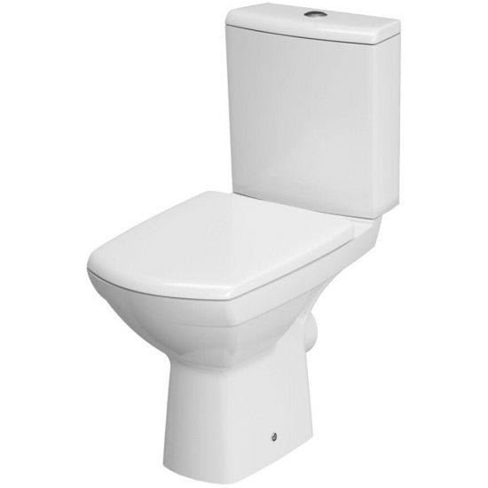 Kompakt WC CARINA z deską duraplastową wolnoopadającą