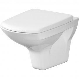 Miska WC podwieszana CARINA z deską duraplastową wolnoopadającą