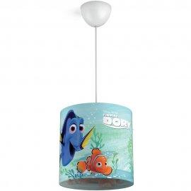 Lampa sufitowa dziecięca 1x23W E27 FINDING DORY 71751/90/16 Philips