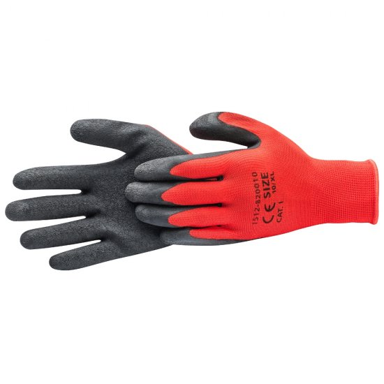 Rękawice *82* czerwo/czarne L latex kat.I HARDY WORKING TOOLS