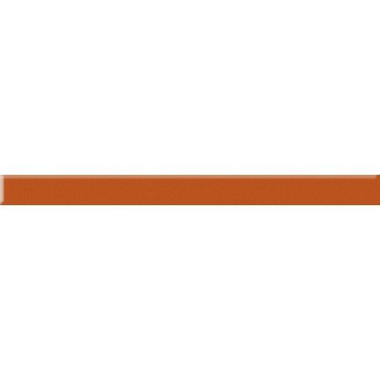 Płytka ścienna uniwersalna listwa szklana Arancione 4,8x60 Paradyż