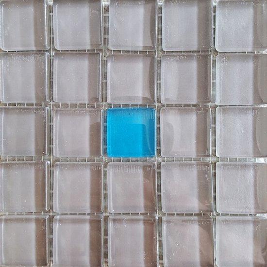 Płytka ścienna multikolor mozaika A new błyszcząca 14,8x14,8 gat. I