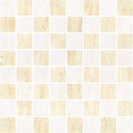 Płytka ścienna MADEA beżowo-brązowa mozaika mat 25x25 gat. I