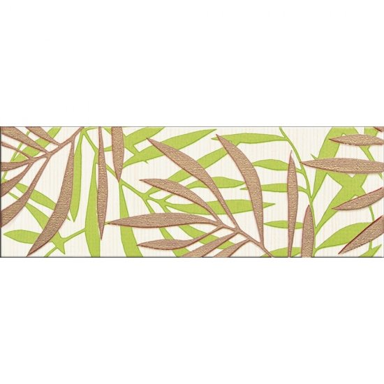 Płytka ścienna MIRANDA kremowa listwa błyszcząca 12x35 gat. I