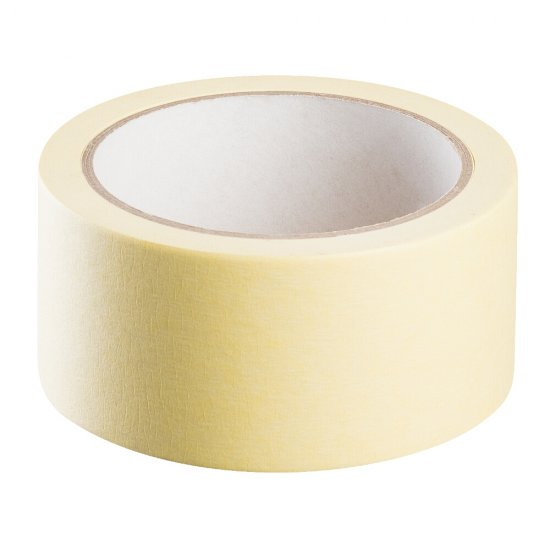 Taśma *545* 38 mm x 33m żółta papierowa HARDY WORKING TOOLS