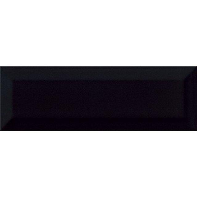 Płytka ścienna METRO STYLE czarna struktura 10x30 gat. I