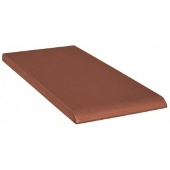 Klinkier SIMPLE RED czerwony parapet C mat 10x20 gat. I