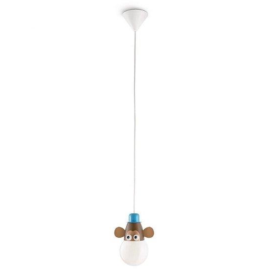 Lampa sufitowa dziecięca MONKEY 1xE27 40591/55/16 Philips