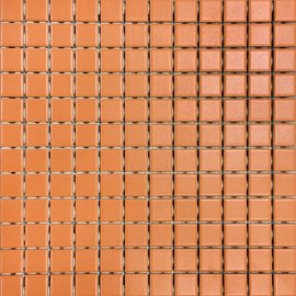 Mozaika CORTA pomarańczowa mat 30x30 gat. I