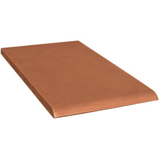 Klinkier SIMPLE RED czerwony parapet B mat 13,5x24,5 gat. I