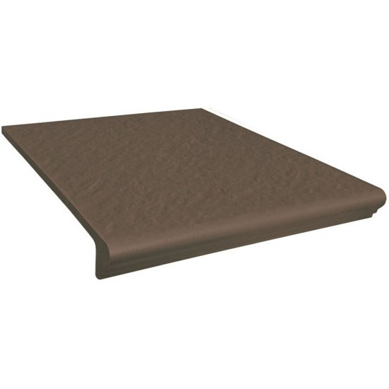Klinkier SIMPLE BROWN brązowy kapinos prosty 3-D mat 30x33 gat. I
