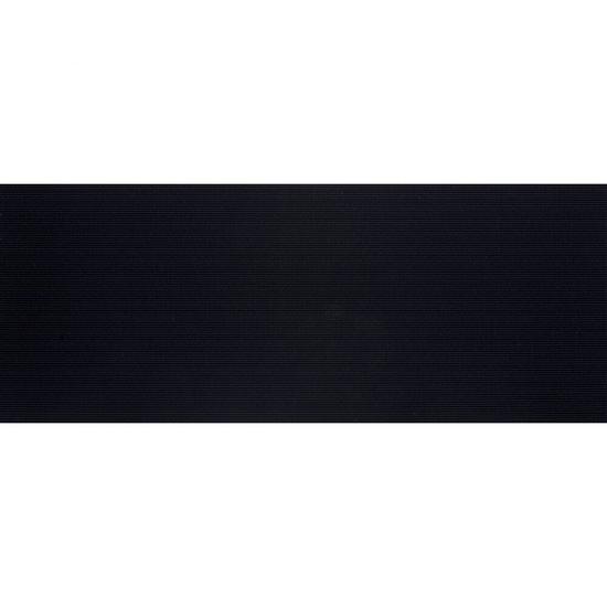 Płytka ścienna SYNTHIA czarna błyszcząca 20x50 gat. I