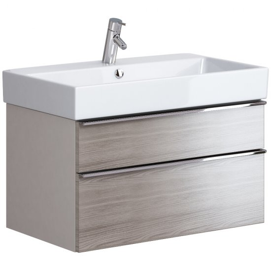 Szafka podumywalkowa METROPOLITAN 80 pod umywalkę METROPOLITAN 80 dąb szary