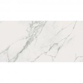 Gres szkliwiony CALACATTA MARBLE biały poler 59,8x119,8 gat. I
