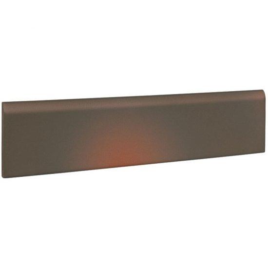 Klinkier SHADOW BROWN brązowy cokół mat 8x30 gat. I