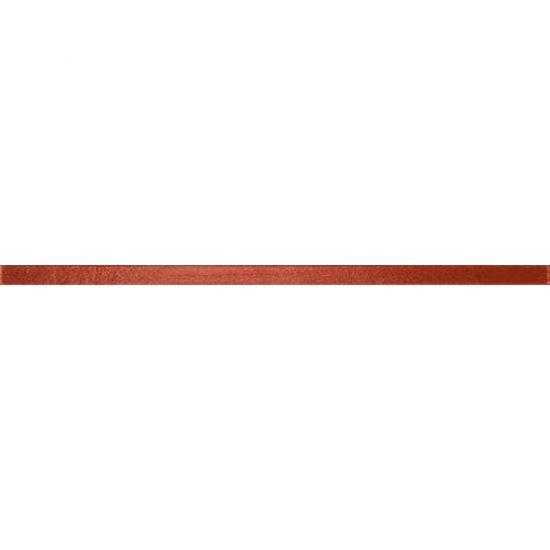 Płytka ścienna LILIUM różowa listwa szklana 1,5x40 gat. I